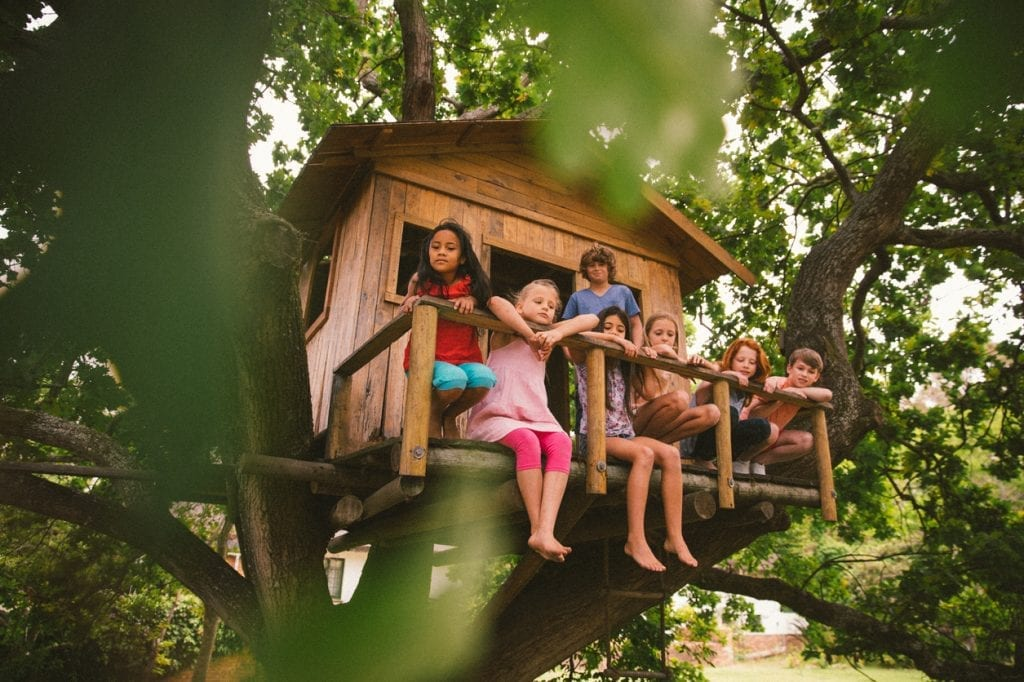 Picture of: 12 Tips For Building A Treehouse With Your Kids Atlanta Parent